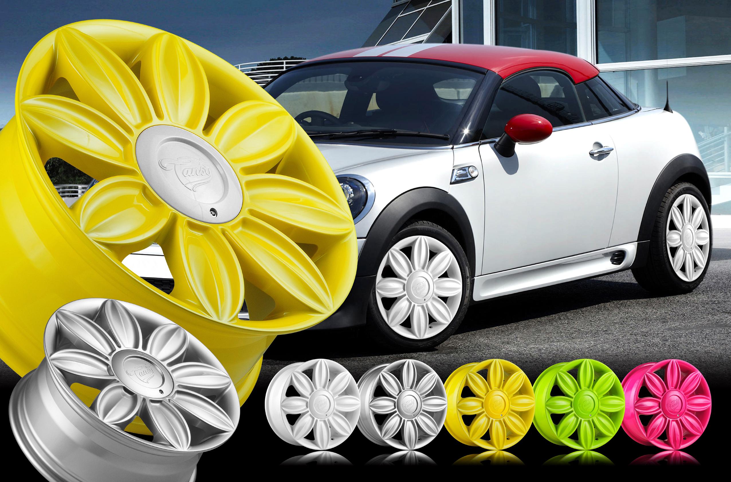 Красивые диски на авто для девушек
