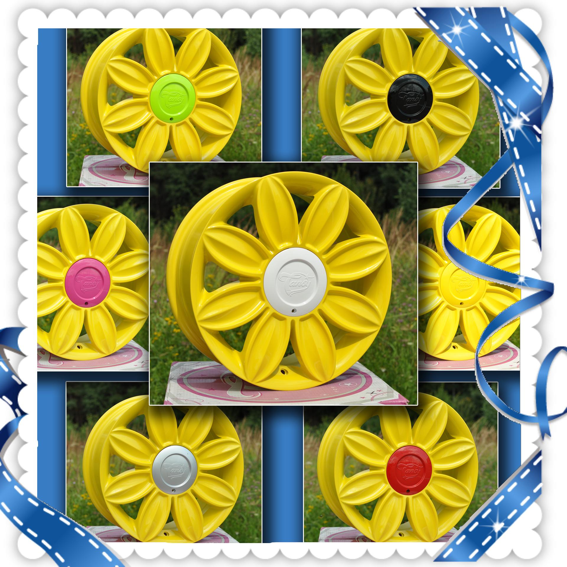 красивые диски; модные диски; желтые диски на авто