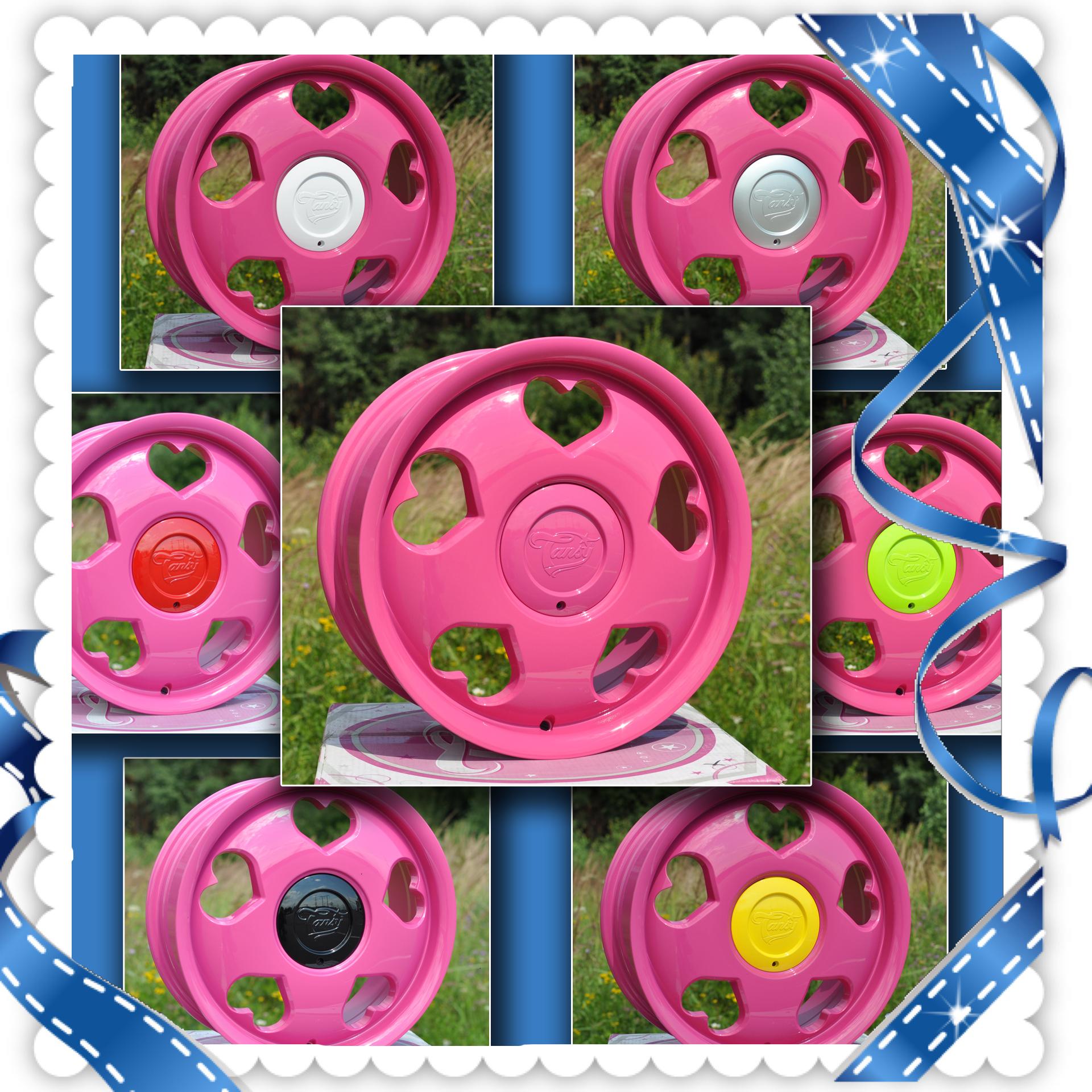 красивые диски; модные диски; розовые диски на авто