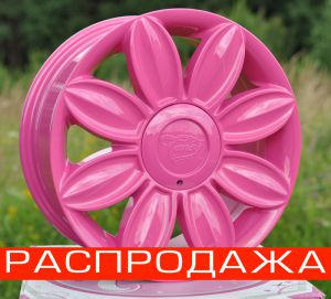 Диск Tansy wheels артикул TW-D04 модель DAISY R16х7.0 ЕТ40 PCD 4-100/114,3 HUB 73,1 цвет диска PI цвет крышки PI ― Интернет магазин shop.larex.ru