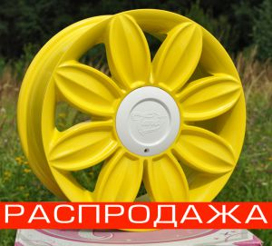 Диск Tansy wheels артикул TW-D05 модель DAISY R16х7.0 ЕТ40 PCD 4-100/114,3 HUB 73,1 цвет диска Y цвет крышки W ― Интернет магазин shop.larex.ru